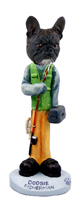 French Bulldog Fisherman Doogie Collectable Figurine