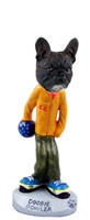 French Bulldog Bowler Doogie Collectable Figurine