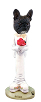 French Bulldog Bride Doogie Collectable Figurine