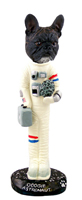 French Bulldog Astronaut Doogie Collectable Figurine