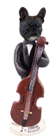 French Bulldog Bassist Doogie Collectable Figurine