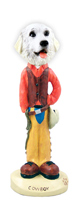 Great Pyrenees Cowboy Doogie Collectable Figurine