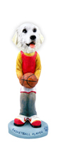 Great Pyrenees Basketball Doogie Collectable Figurine
