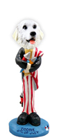 Great Pyrenees 4th of July Doogie Collectable Figurine