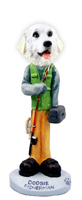 Great Pyrenees Fisherman Doogie Collectable Figurine