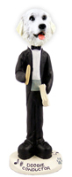 Great Pyrenees Conductor Doogie Collectable Figurine