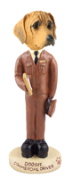 Rhodesian Ridgeback Commercial Driver Doogie Collectable Figurine