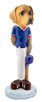 Rhodesian Ridgeback Baseball Doogie Collectable Figurine