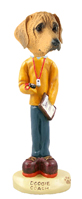Rhodesian Ridgeback Coach Doogie Collectable Figurine