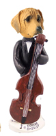 Rhodesian Ridgeback Bassist Doogie Collectable Figurine