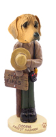 Rhodesian Ridgeback Forest Ranger Doogie Collectable Figurine