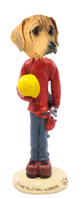 Rhodesian Ridgeback Construction Worker Doogie Collectable Figurine
