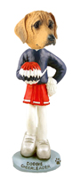 Rhodesian Ridgeback Cheerleader Doogie Collectable Figurine