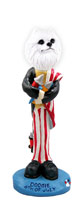 American Eskimo Miniature 4th of July Doogie Collectable Figurine