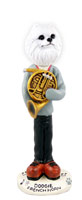 American Eskimo Miniature French Horn Doogie Collectable Figurine