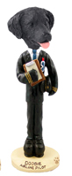 Flat Coated Retriever Airline Pilot Doogie Collectable Figurine