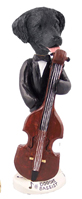 Flat Coated Retriever Bassist Doogie Collectable Figurine
