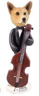 Australian Cattle Dog, RED Bassist Doogie Collectable Figurine