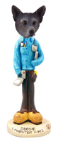 Australian Cattle Blue Dog Computer Whiz Doogie Collectable Figurine