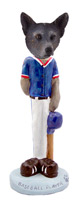 Australian Cattle Blue Dog Baseball Doogie Collectable Figurine