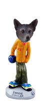 Australian Cattle Blue Dog Bowler Doogie Collectable Figurine