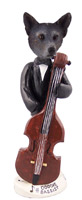 Australian Cattle Blue Dog Bassist Doogie Collectable Figurine
