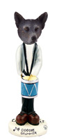 Australian Cattle Blue Dog Drummer Doogie Collectable Figurine