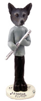 Australian Cattle Blue Dog Flutist Doogie Collectable Figurine