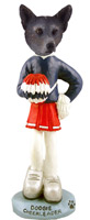 Australian Cattle Blue Dog Cheerleader Doogie Collectable Figurine