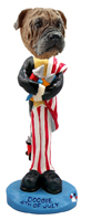 Bull Mastiff 4th of July Doogie Collectable Figurine