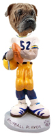 Bull Mastiff Football Player Doogie Collectable Figurine