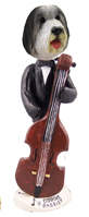Bearded Collie Bassist Doogie Collectable Figurine