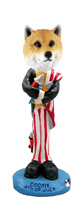 Shiba Inu 4th of July Doogie Collectable Figurine