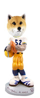 Shiba Inu Football Player Doogie Collectable Figurine