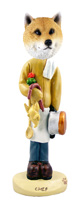 Shiba Inu Chef Doogie Collectable Figurine