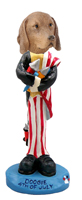 Vizsla 4th of July Doogie Collectable Figurine