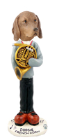 Vizsla French Horn Doogie Collectable Figurine