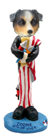 Australian Shepherd, BLUE 4th of July Doogie Collectable Figurine
