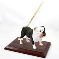 Bulldog Brindle Pen Set