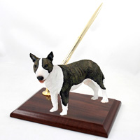 Bull Terrier Brindle Pen Set