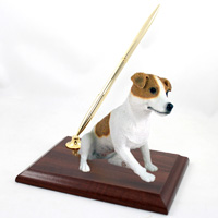 Jack Russell Terrier Brown & White w/Smooth Coat Pen Set