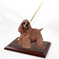 Cocker Spaniel Brown Pen Set