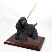 Cocker Spaniel Black Pen Set