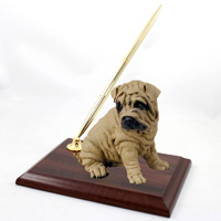 Shar Pei Brown Pen Set