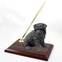 Shar Pei Black Pen Set