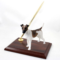 Fox Terrier Brown & White Pen Set
