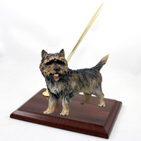 Cairn Terrier Brindle Pen Set