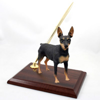 Miniature Pinscher Tan & Black Pen Set