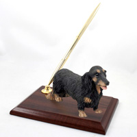 Dachshund Longhaired Black Pen Set