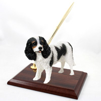 Cavalier King Charles Spaniel Black & White Pen Set